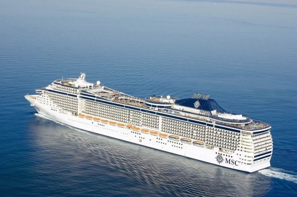 MSC Cruzeiros cancela partidas e escalas na China