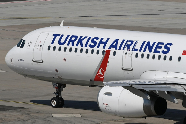 Turkish Airlines suspende voos para o Irão