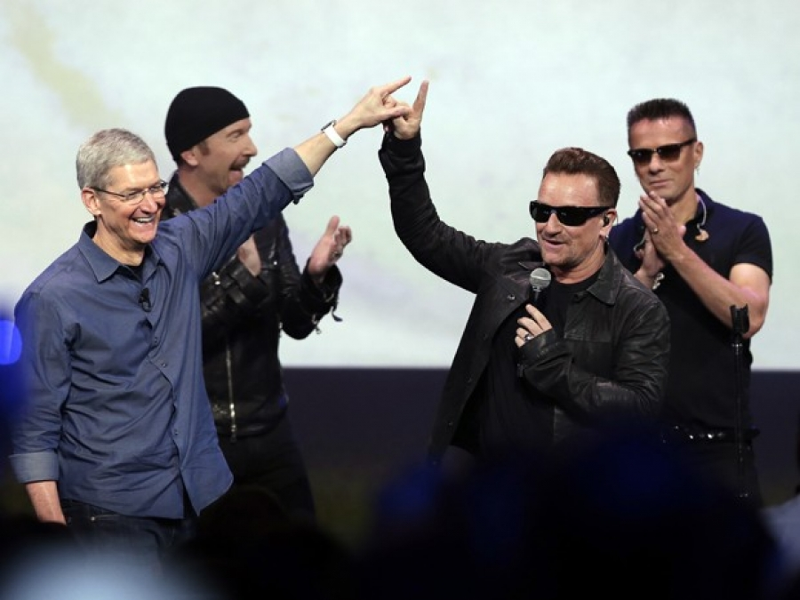 """Songs of innocence"", dos U2, com download gratuito no iTunes"