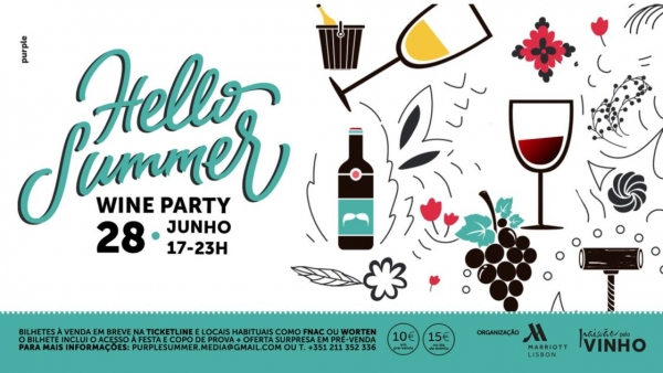 Tejo é região convidada da 'Hello Summer Wine Party'