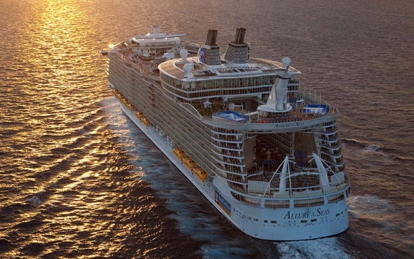 Allure of The Seas, da Royal Caribbean, chega à Europa no verão de 2020