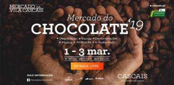 Mercado da Vila de Cascais de novo invadido pelo Mercado do Chocolate