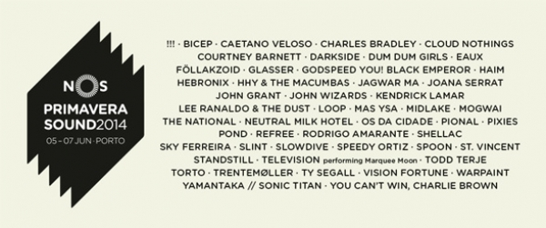 The National, Pixies e Kendrick Lamar no Nos Primavera Sound